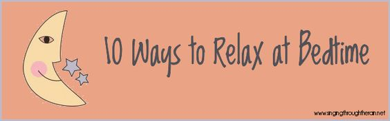 Bedtime Relaxations for Deployment – 10 Ways to Relax at Bedtime when your spouse is deployed. #deployment