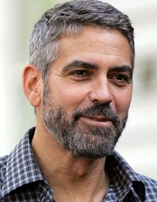 Mr George Clooney Older Mens Hairstyles Men Haircut Styles Mens Beard Styles Short