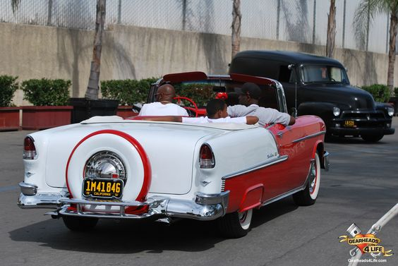 Clean Bel-Air drop top. http://www.gearheads4life.com/event-coverage/chevys-street-machine-nationals-pomona/