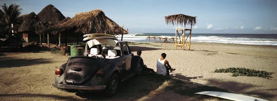 It shows how the Oaxacans like to surf.