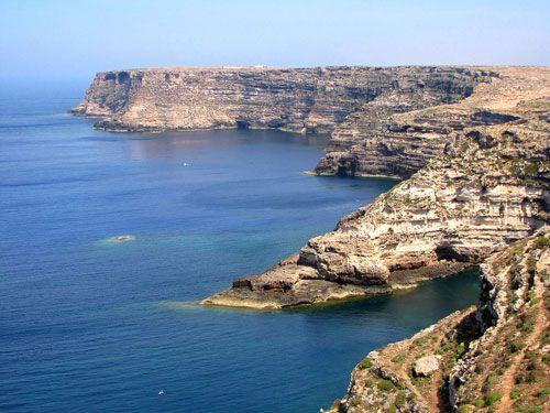 Lampedusa Pelagie Islands Sicilia Italia Sicilia Italia