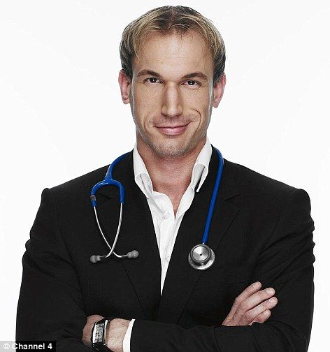 """dr. christian jessen from the tv show """"supersize vs superskinny""""...yummy :)"""