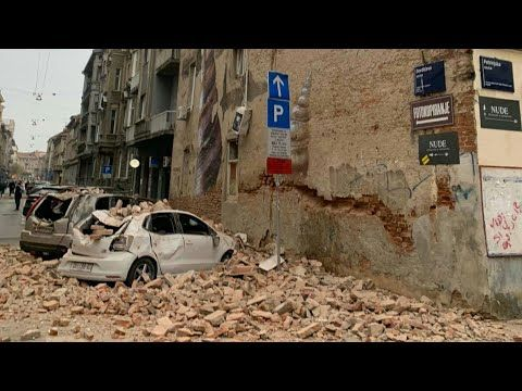 Croatia Zagreb Earthquake Croatia Earthquake Zagreb Earthquake Croatia Zagreb Earthquake 2020 Youtube Earthquake Earthquake Magnitude Croatia