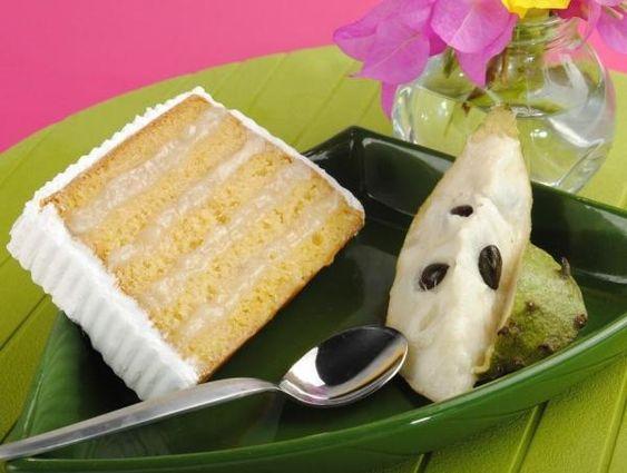 Barbados Soursop Cake