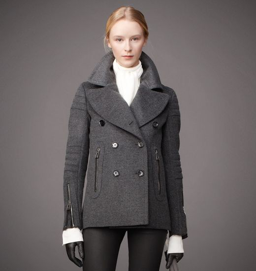 Croft Jacket In Wool Cashmere | Coats Shops and Wool