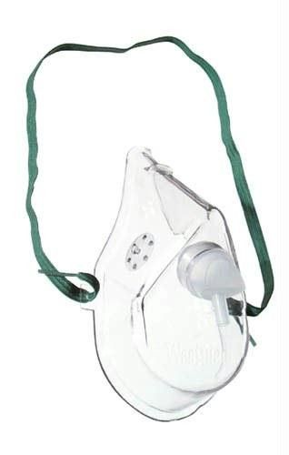 Oxygen Mask Adult w-7' Tubing Medium Concentration (Each)