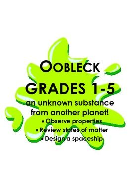 Who doesn't love Oobleck! It is the perfect activity for helping ...