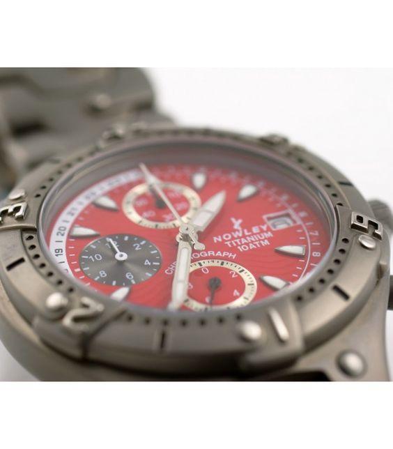 Nowley Titanium Chronograph 10 ATM - Reloj para hombre en subasta online - Subastas Regent's | Joyas y Antigüedades