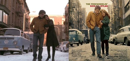 In Vanilla Sky 2001 A Close Recreation Of Bob Dylan S Cover Of The Freewheelin Album Was Done By Tom Cruise And Pen Bob Dylan Covers Tom Cruise Vanilla Sky