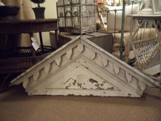 Doors etsy and the o 39 jays on pinterest for Gable pediments for sale