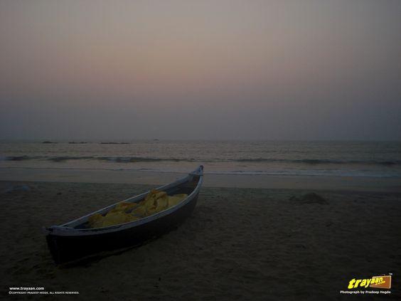 Tannirbavi beach in Mangalore, Karnataka, India  #IncredibleIndia #Travel #Karnataka #India #Beach #Sunset