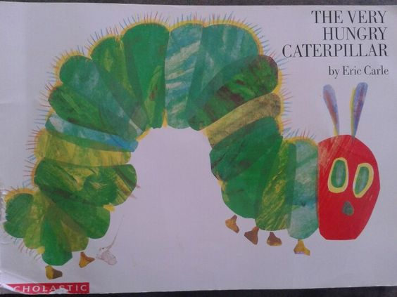 A very good book about a caterpillar becoming a butterfly. Great to pair up with caterpillar projects.