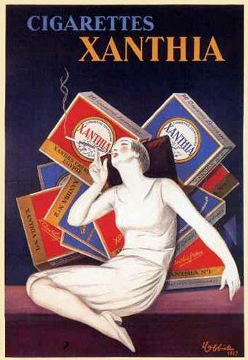 1927.  Xanthia Cigarettes.