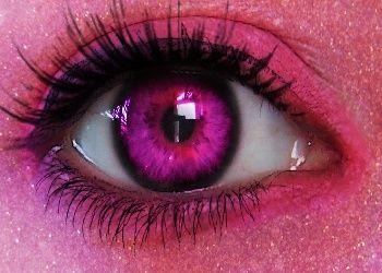 pink eye.