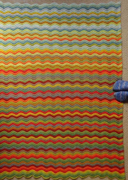 Attic24 Woodland Blanket Crochet Blanket Knitted Blankets