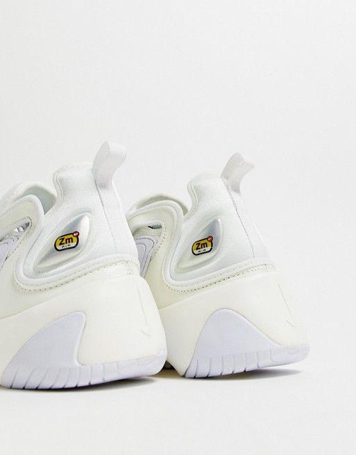 Nike Zoom 2K sneakers in white | ASOS