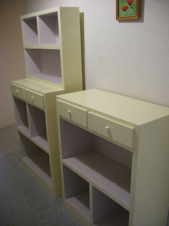 sg mobilier carton rangement de bureau en carton. Black Bedroom Furniture Sets. Home Design Ideas