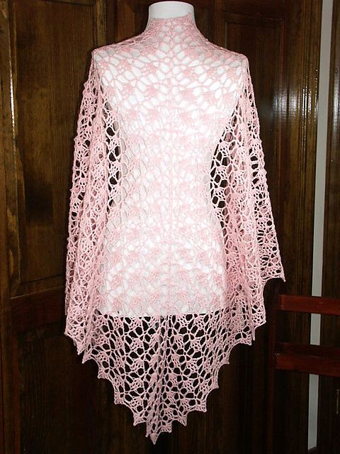 Crochet Patterns By Yarn Weight : ... patterns a beautiful shawl what to do weights patterns lace crocheted