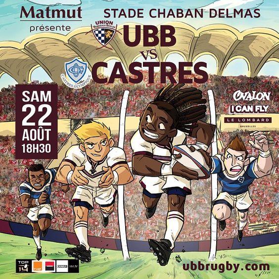 UBB-Castres, samedi 22 août