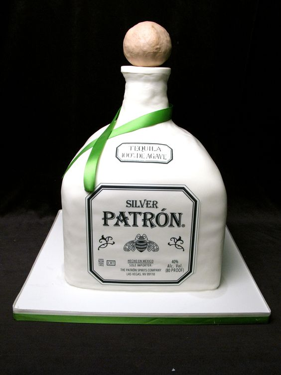 Patron Decorated Cake