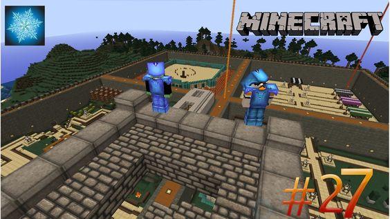 Minecraft MCMMO CraftSnow Season 2 Ep. 27 (Cleaning Up Pranks)