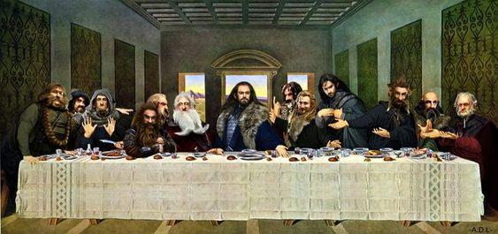 Das letzte Abendmahl: The Hobbit - http://www.dravenstales.ch/das-letzte-abendmahl-the-hobbit/