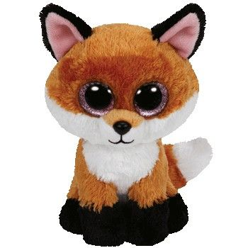 New Ty Beanie Boo Plush - Slick the Fox  £4.99