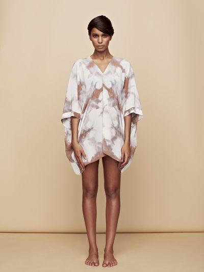 """CDC kimono  100% silk cdc one size; 30"""" long $264.00"""