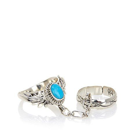 Navajo Dreams Turquoise Sterling Silver Ring – Tribal Native L.A.