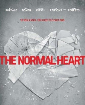 Poster Of Hollywood Film The Normal Heart (2014) In 300MB Compressed Size PC Movie Free Download At downloadhub.net