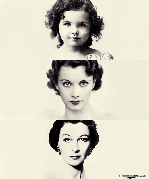 Vivien Leigh over the years.