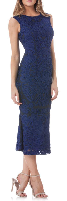Soutache Mesh Dress | Nordstrom