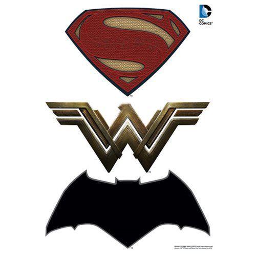 Batman V Superman Dawn Of Justice Logos Car Graphics Set Batman Vs Superman Logo Batman V Batman V Superman Dawn Of Justice