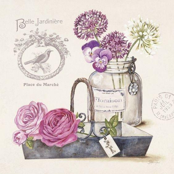 Poster oder Leinwandbild Stefania Ferri Blumenstrauß IV 316-00191-1 | eBay