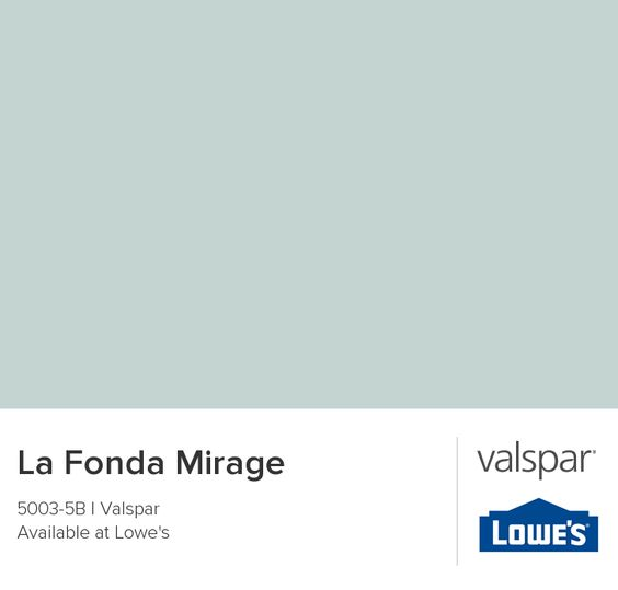 La Fonda Mirage From Valspar For The Home Pinterest