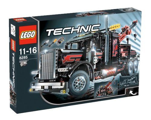 Lego Technic 8285 - Großer Schwarzer Abschlepptruck » LegoShop24.de