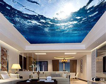 Custom 3d Photo Wallpaper Galaxy Stars Ceiling Fresco Art Wall Painting Living Room Bedroom Ceiling Mural Wallpaper Ceiling Murals Mural Wallpaper Custom Photo Wallpaper