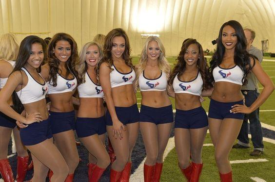 Houston Texans cheerleaders battle to make the team: Behind the ...