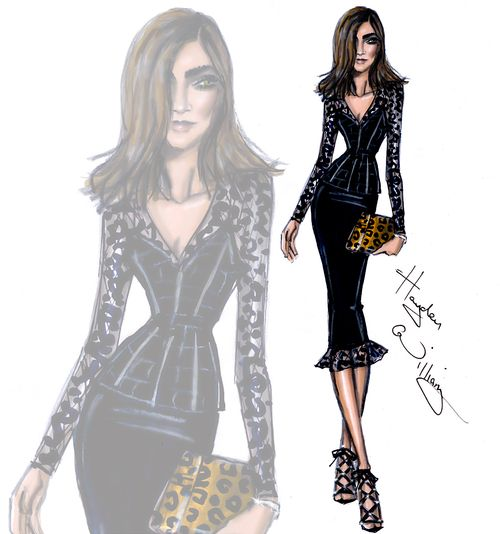 Founder of CR Fashion Book Carine Roitfeld by Hayden Williams #TheFashionPack
