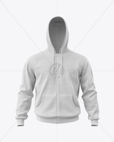Download Men S Full Zip Hoodie Mockup In Apparel Mockups On Yellow Images Object Mockups Hoodie Mockup Clothing Mockup Full Zip Hoodie