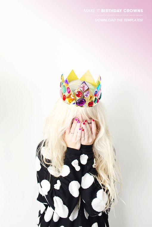DIY Birthday Crowns