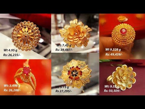 Gold Ring Designs Las Rings