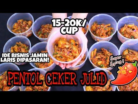 Pentol Ceker Julid Sepedas Mulut Netizen Youtube Resep Bakso Ide Bisnis