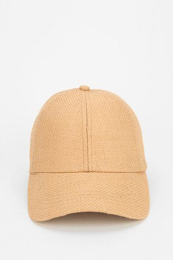 Mint By Goorin Straw Baseball Hat