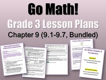 Go Math 5th Grade Answer Key Chapter 7 - go math grade 3 ...