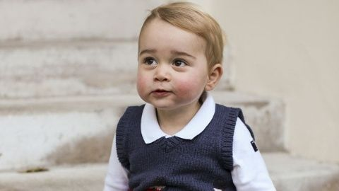 Prince George Christmas photos