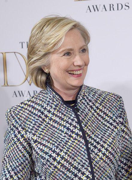 Hillary Clinton in The 2015 DVF Awards