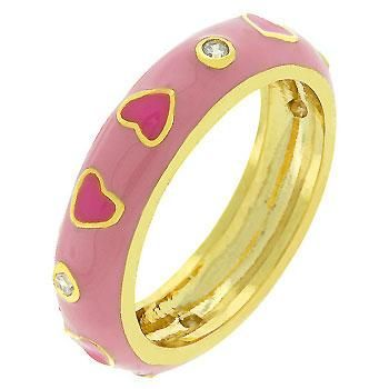 Beautiful Red Hearts Ring-Free Shipping! $29.99