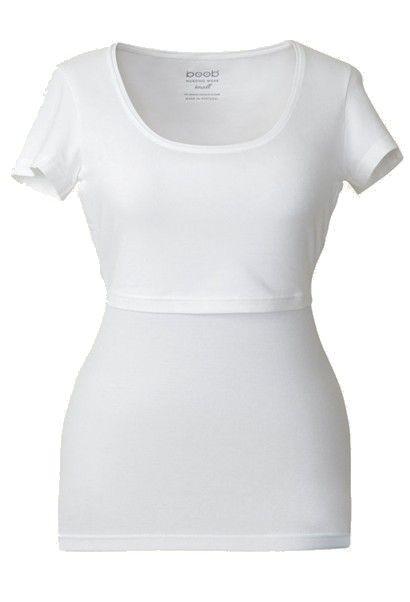 Camiseta lactancia MC Blanco [0101/0102w] - 39,95€ : Tienda premamá online. Moda prenatal para embarazadas y ropa interior para embarazo y lactancia., Demamis.com