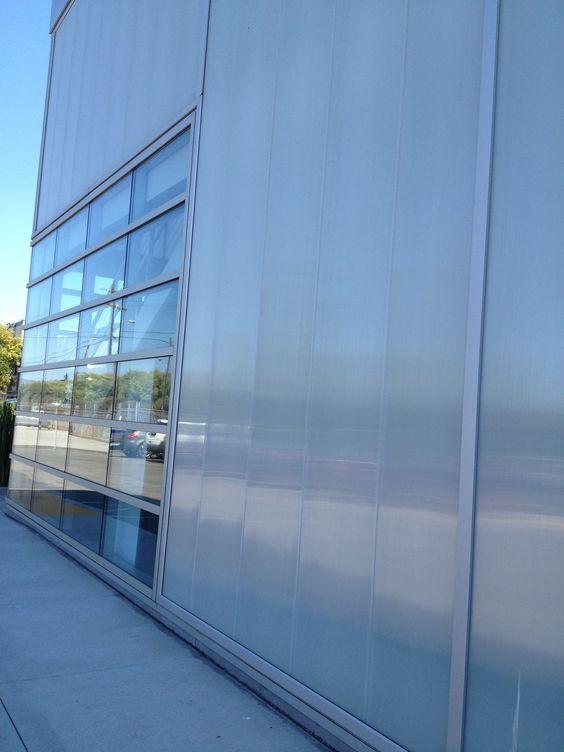 CPI polycarbonate wall